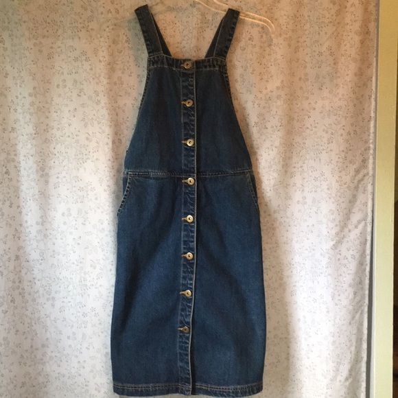 Free People Denim - Free People Denim Skirt Overalls